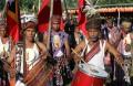 Comemorações do 13.º aniversário da restauração da independência timorense, em Maliana, Timor-Leste, 20 de maio de 2015. ANTÓNIO SAMPAIO/LUSA