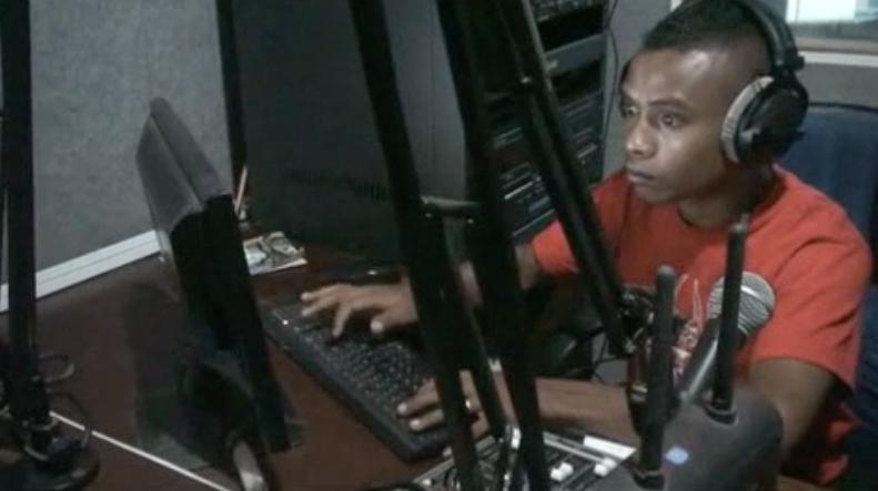 A rádio que deu as primeiras informações da invasão indonésia