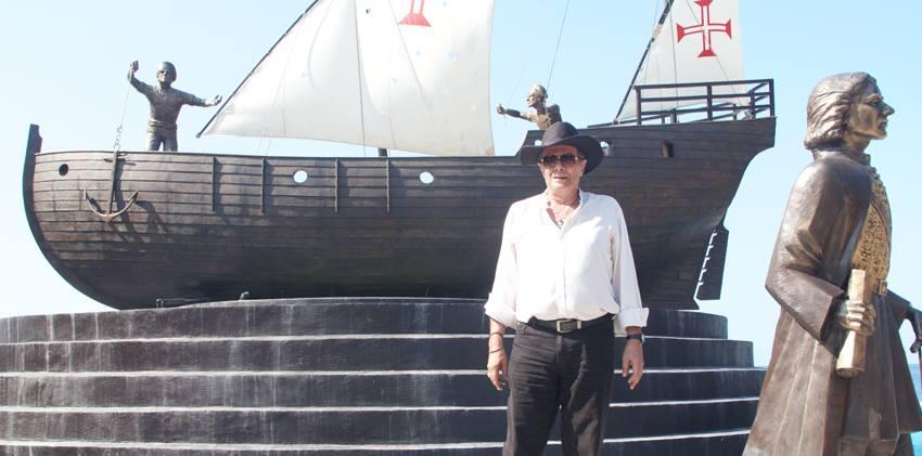 Joaquim de Brito, autor do Conceito e do Design do Monumento