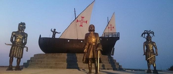 Caravela assinala a chegada dos portugueses a Timor-Leste
