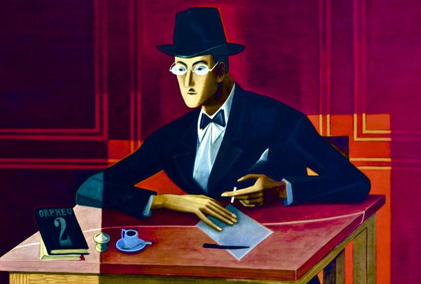 Exposição inédita sobre Fernando Pessoa marca os 80 anos da morte do poeta