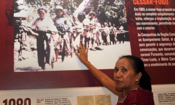 Lalo Imin, a guerrilheira que transportava o filho e a G3 no mato