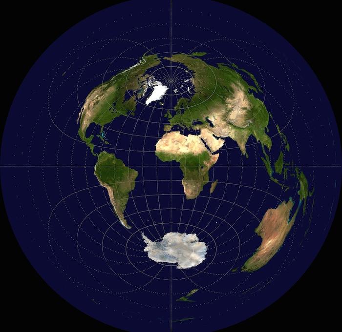 Área terrestre