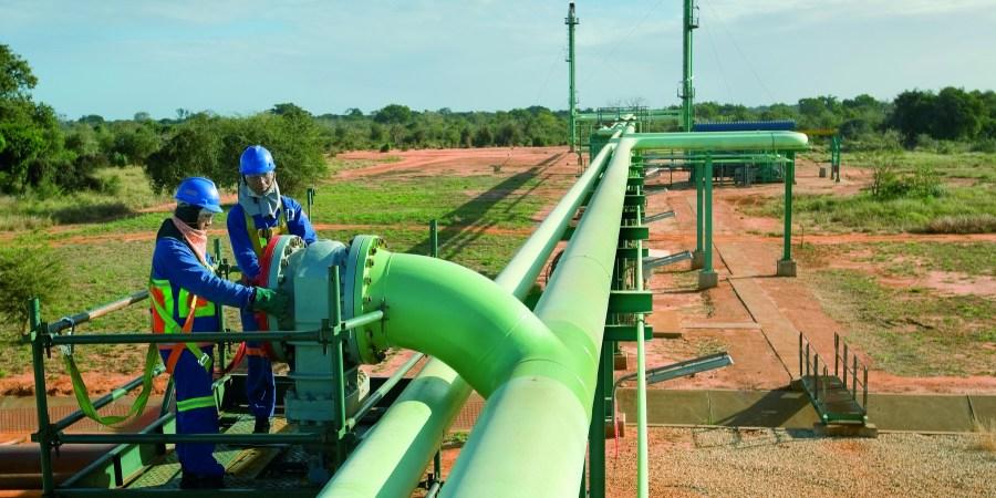 Gasoduto SASOL - Temane - Moçambique