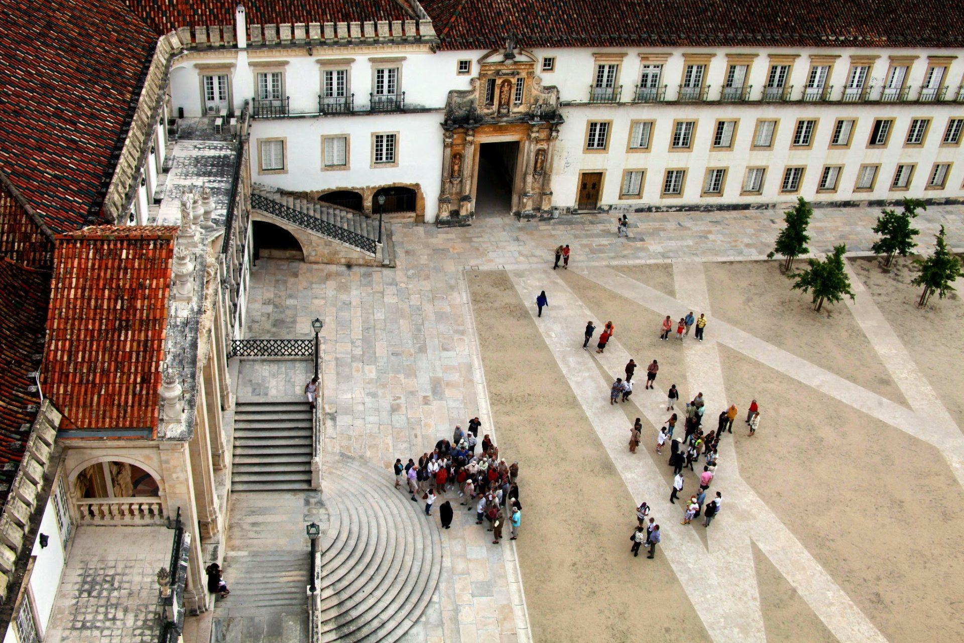 Pátio da Universidade de Coimbra. Coimbra, 16 de junho de 2013. PAULO NOVAIS / LUSA