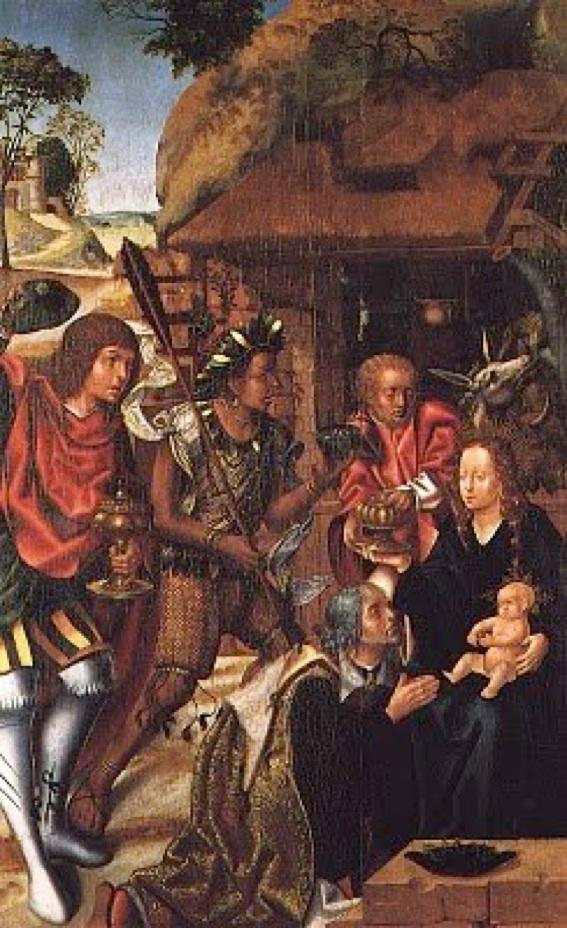 Vasco Fernandes (Grão Vasco) Adoração dos Reis Magos-1501-6 (Museu de Grão Vasco), Viseu, Portugal
