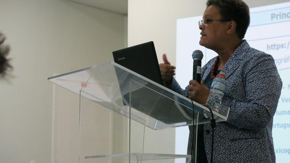 Diálogo entre os alunos da Unilab e a Professora Marisa Mendonça