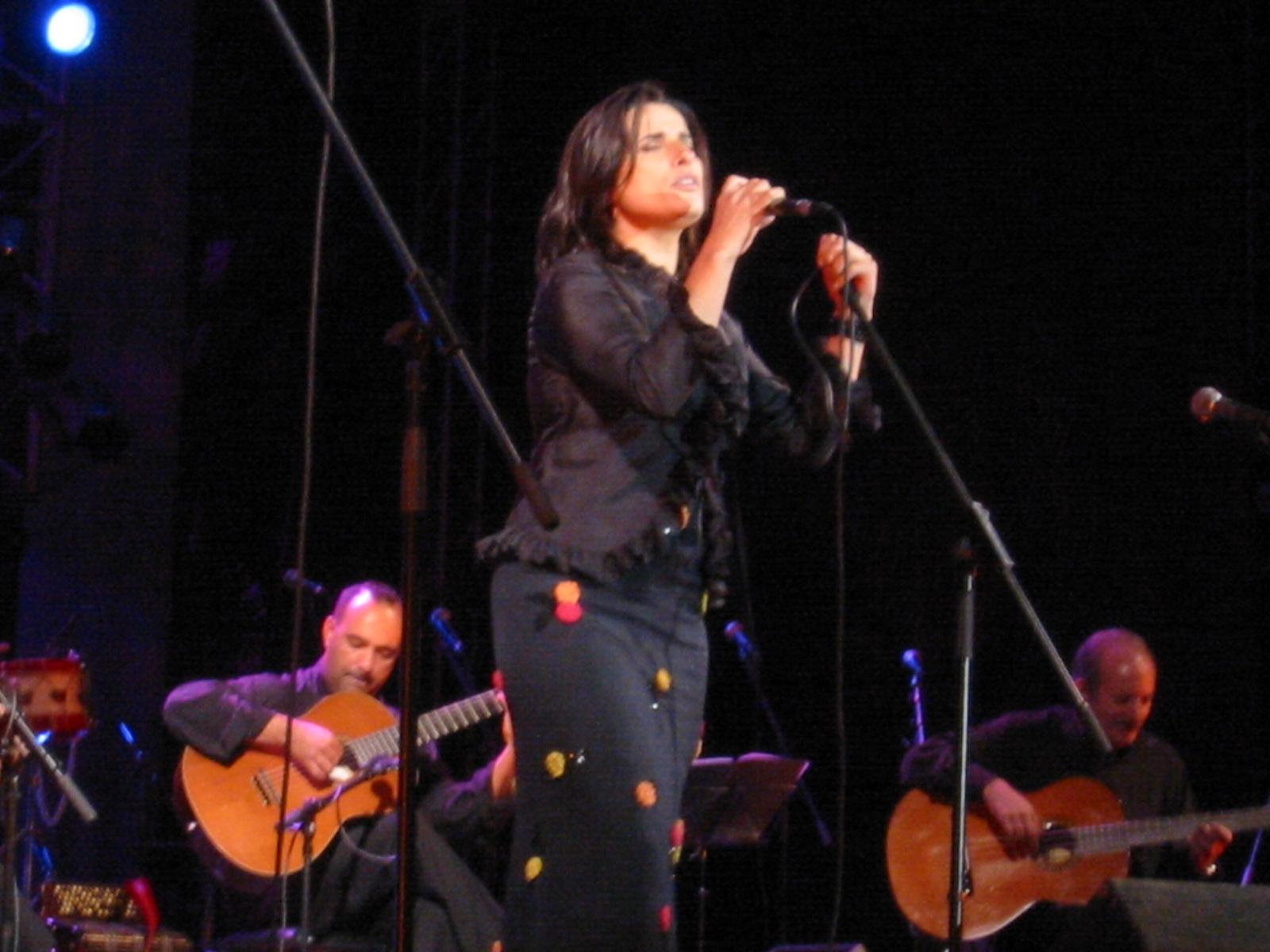 Cristina Branco no Festival FMM em Sines, 2005