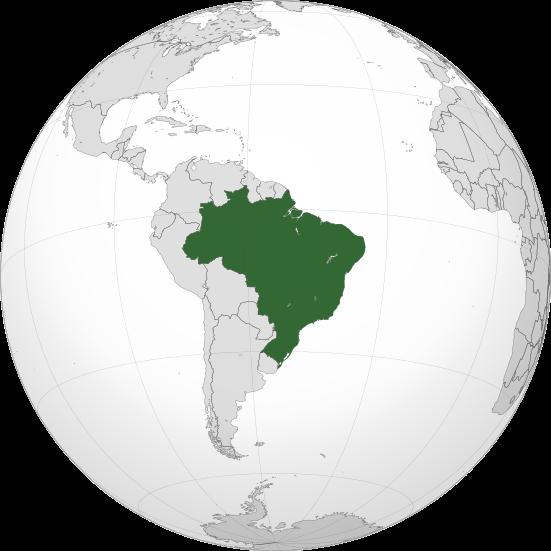 O(s) tamanho(s) do Brasil ao longo do tempo