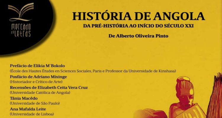 """Alberto Oliveira Pinto lança """"História de Angola"""""""