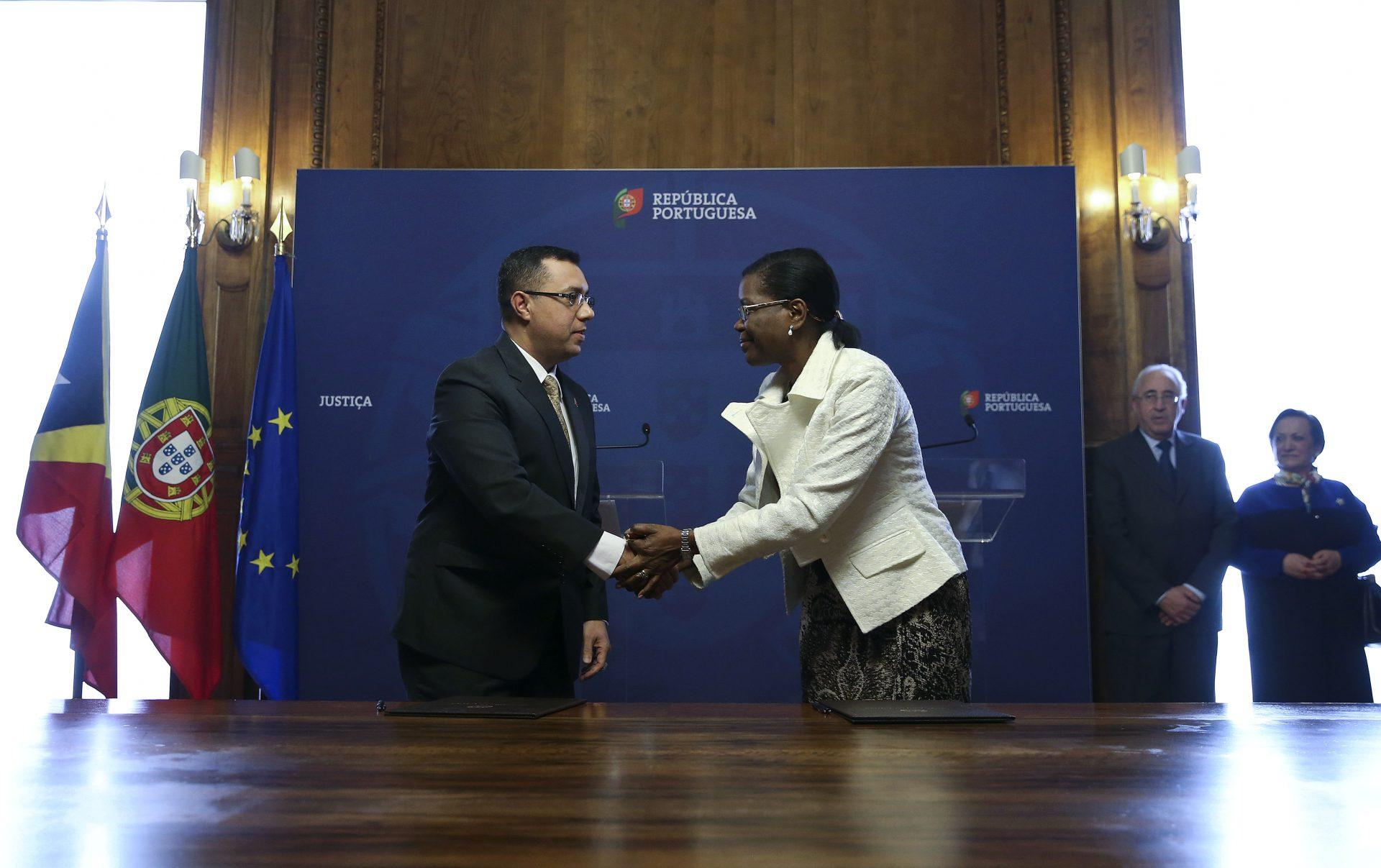 Portugal e Timor-Leste assinam protocolo de cooperação na área da Justiça