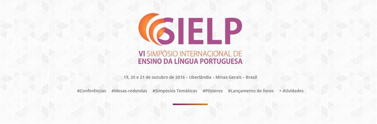 VI SIELP – Simpósio Internacional de Ensino da Língua Portuguesa