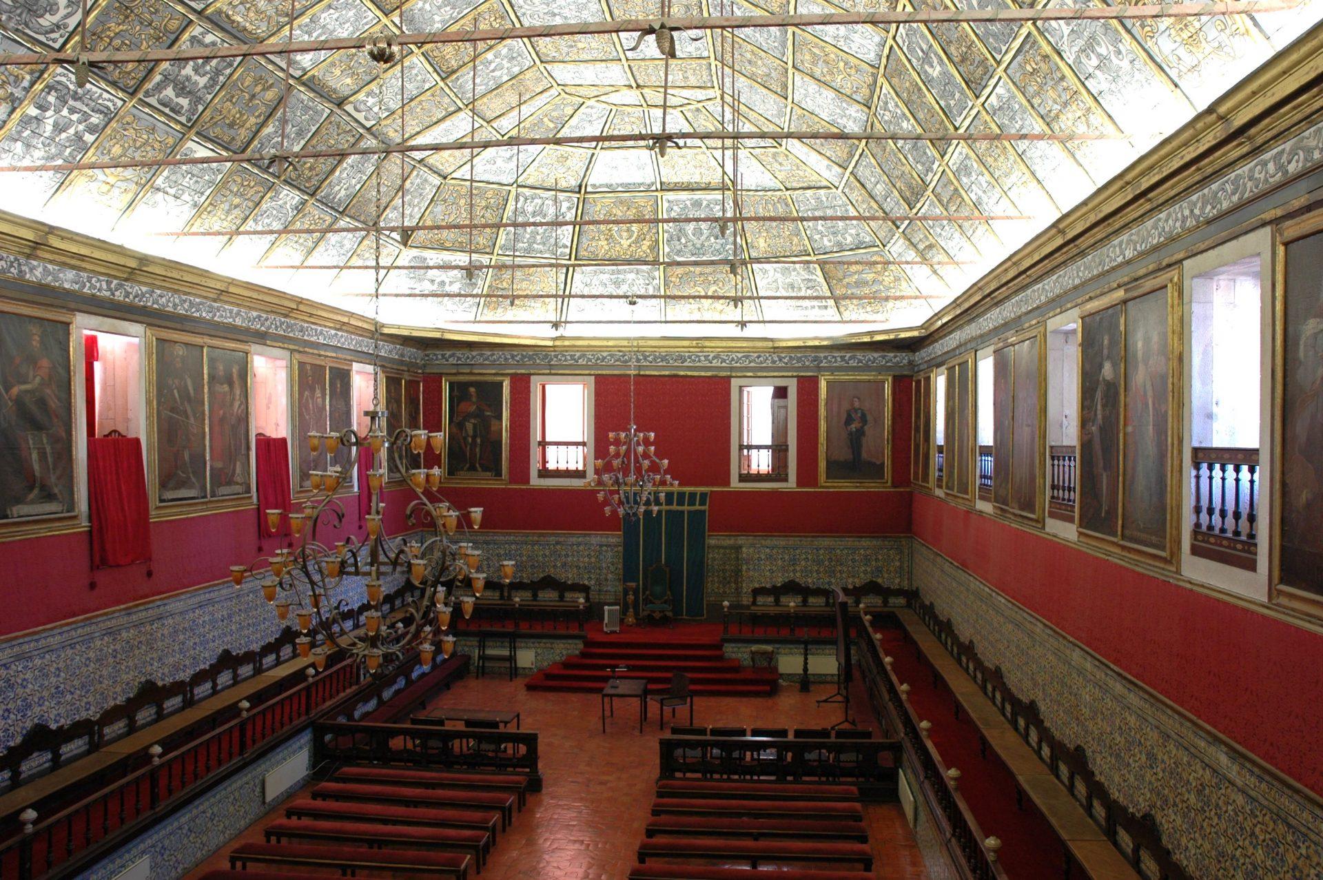 Sala dos Capelos. Universidade de Coimbra.