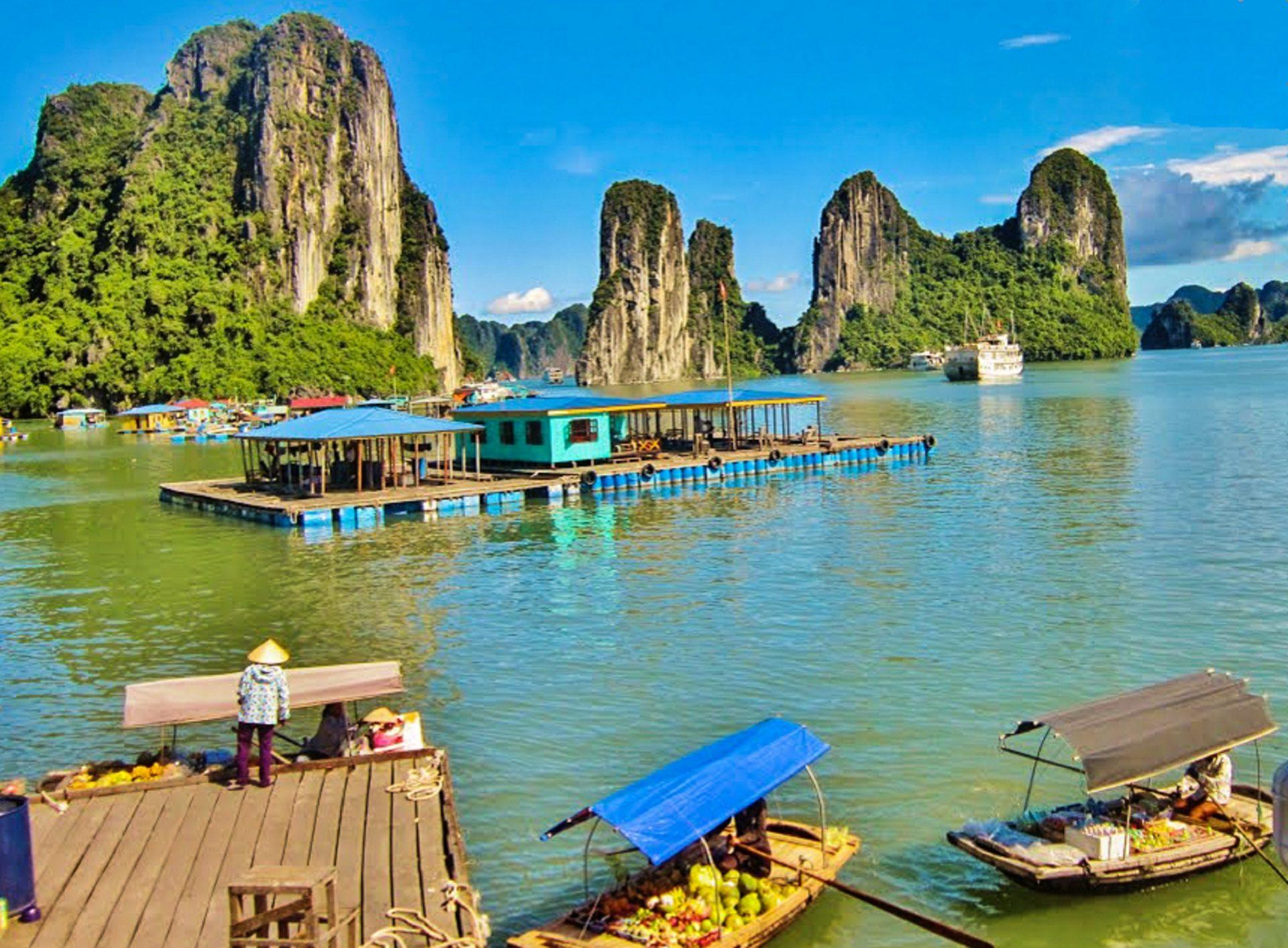 Baía De Halong, Vietname.