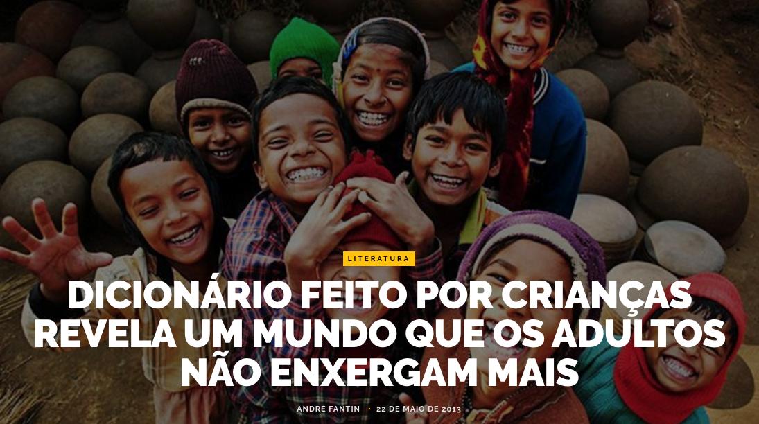 """""""Dicionário"""" infantil"""