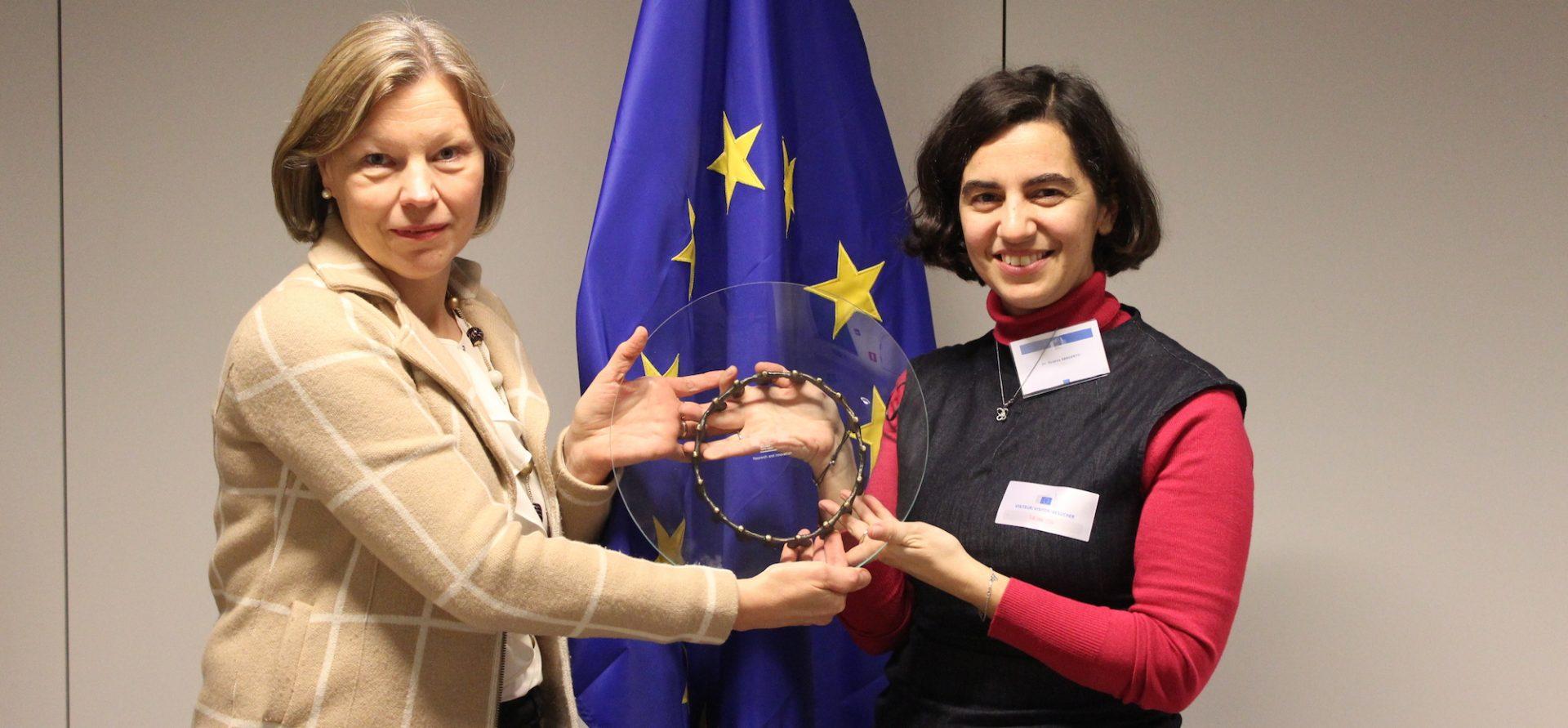 A mulher mais inovadora da Europa é portuguesa