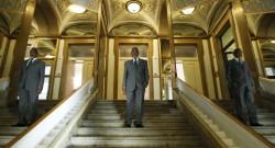 O secretário-executivo da CPLP, Murade Isaac Miguigy Murargy, Lisboa, 1 de outubro de 2012. MIGUEL A. LOPES/LUSA