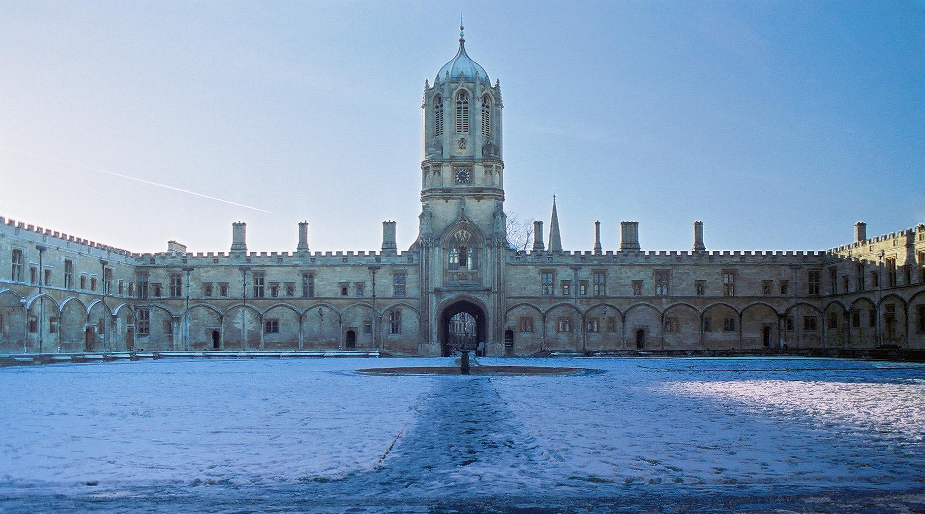 Vaga na Universidade de Oxford