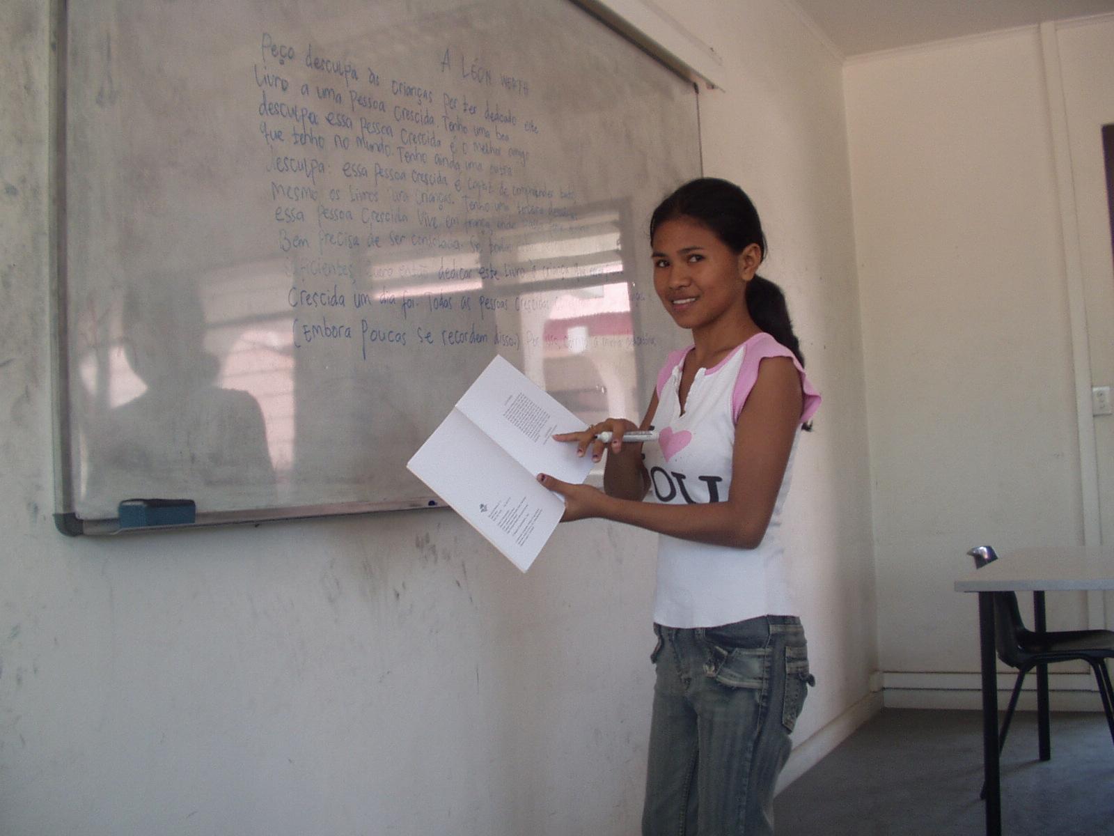 """É """"dever patriótico"""" aprender português em Timor-Leste"""
