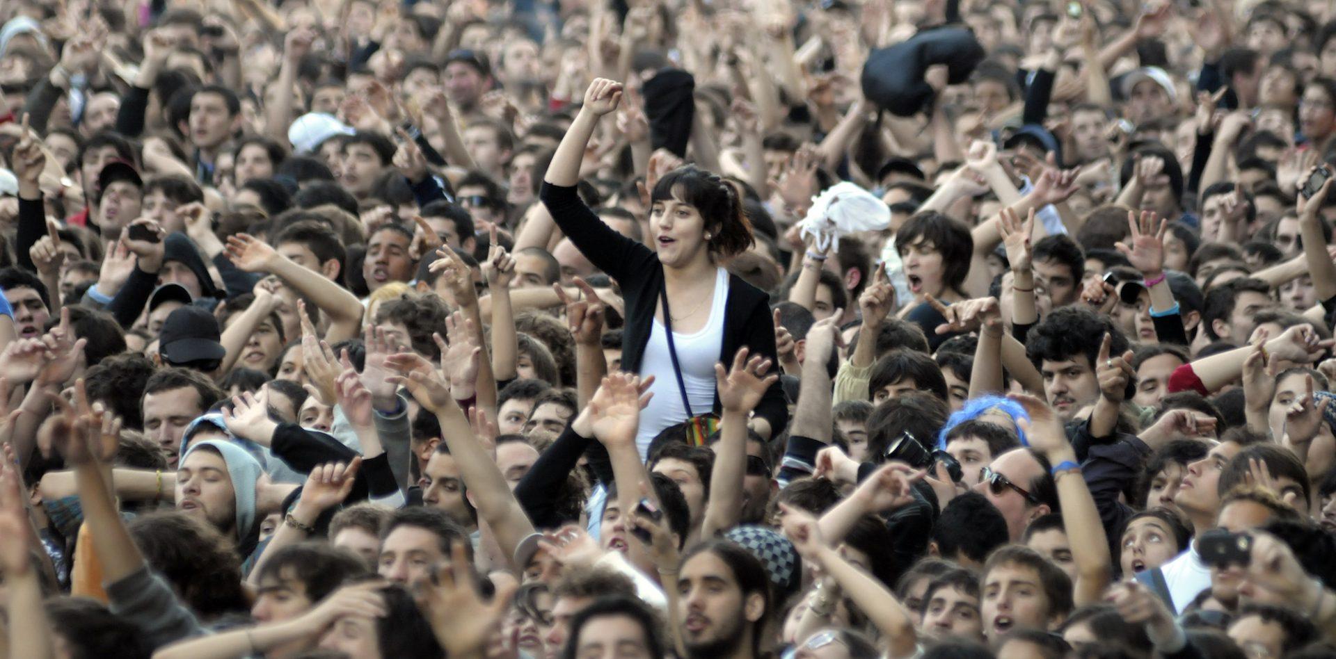 Atividades comemorativas do bicentenário do Uruguai. Dia 10 de outubro de 2011 Fotografia de Matilde Campodonico.