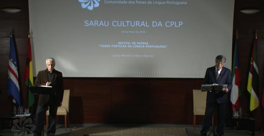 "Sarau Cultural: ""Vozes Poéticas da Língua Portuguesa"""