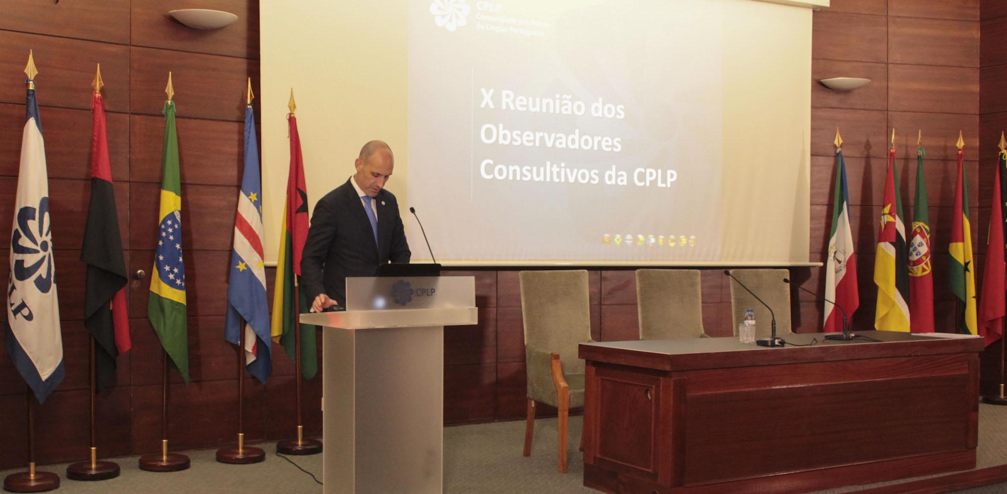 CPLP/Cimeira: Oito instituições recebem o estatuto de observador consultivo