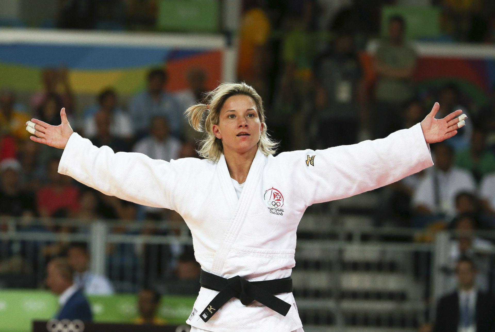 O grande dia olímpico de Telma Monteiro