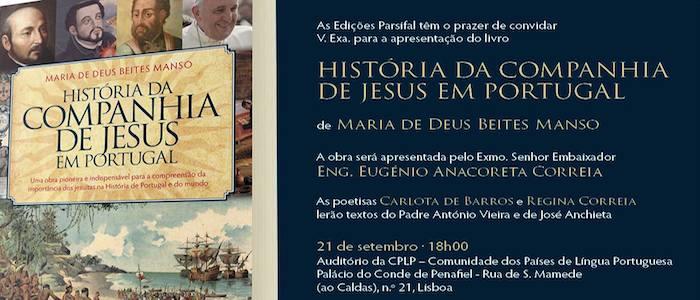 HISTÓRIA DA COMPANHIADE JESUS EM PORTUGAL