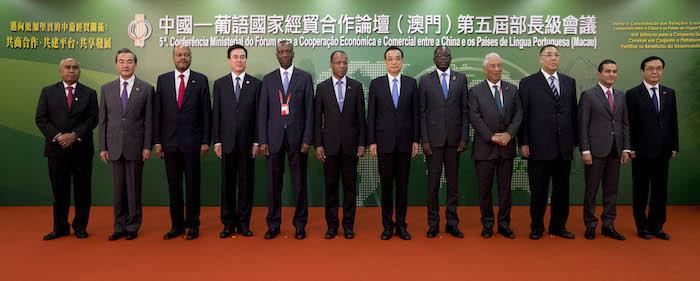 Governo da China e países lusófonos procuram novo fôlego para cooperação
