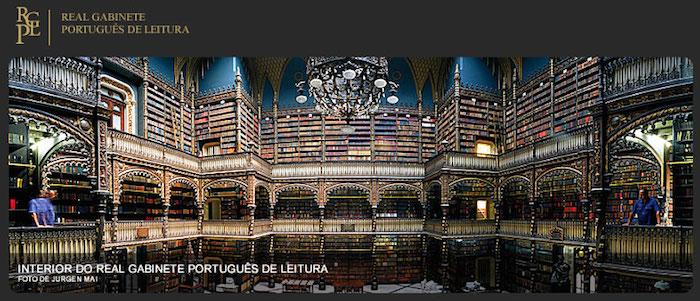 Real Gabinete Português de Leitura investiga temas luso-brasileiros