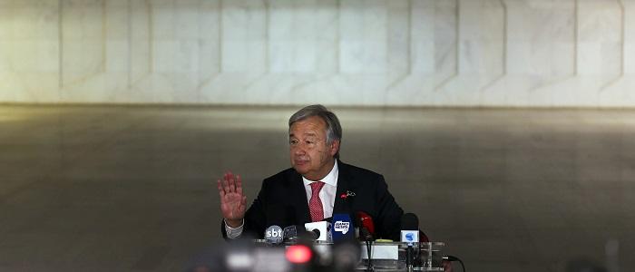 """CPLP/Cimeira: Comunidade distingue António Guterres pela sua """"atuação singular"""""""