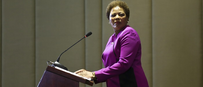 Secretária executiva da CPLP na 72.ª Assembleia-Geral da ONU
