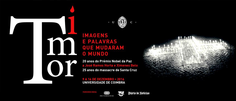 A UC assinala os 25 anos do massacre de Santa Cruz e os 20 anos do Nobel da Paz