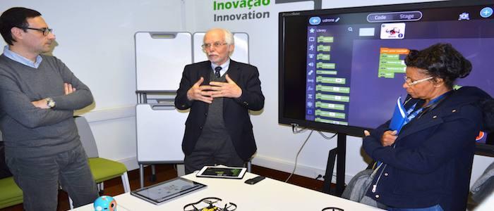 O FTE-Lab é uma iniciativa do Instituto de Educação da Universidade de Lisboa