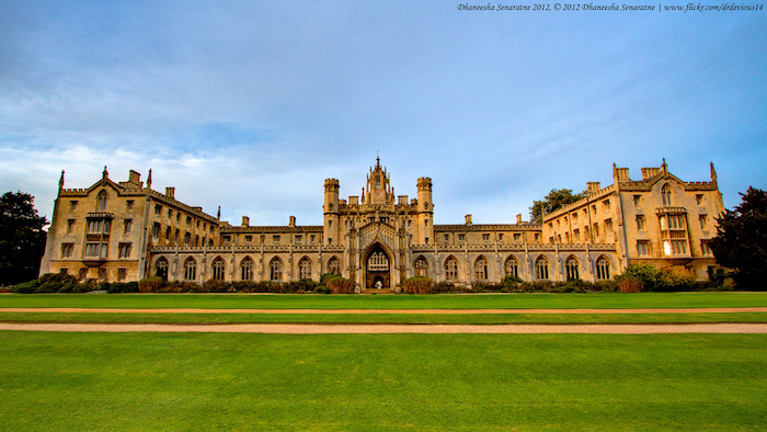 Bolsa para professor sênior do Brasil em St. John's College, Cambridge