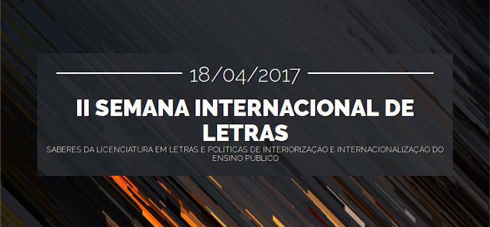II Semana Internacional de Letras | UNILAB