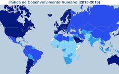 """Países lusófonos no """"ranking"""" mundial do IDH"""