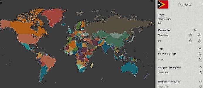 mapa imagem