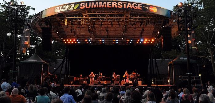Noite portuguesa no SummerStage de Nova Iorque