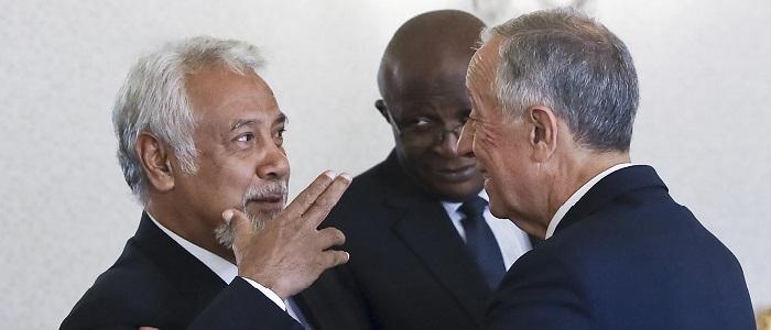 G7+ teve encontro frutífero e comovente com Presidente português – Xanana