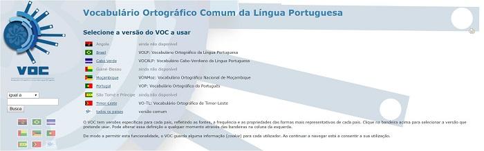 VOC de Língua Portuguesa com cerca de 310 mil palavras