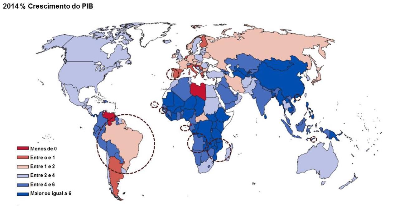 PIB nominal per capita em 2015.