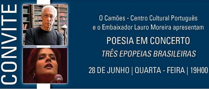 Três epopeias brasileiras por Lauro Moreira