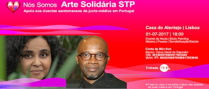 II Gala Arte Solidária STP, 1 de Julho, Casa do Alentejo.