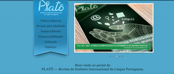 A PLATÔ Revista do Instituto Internacional da Língua Portuguesa