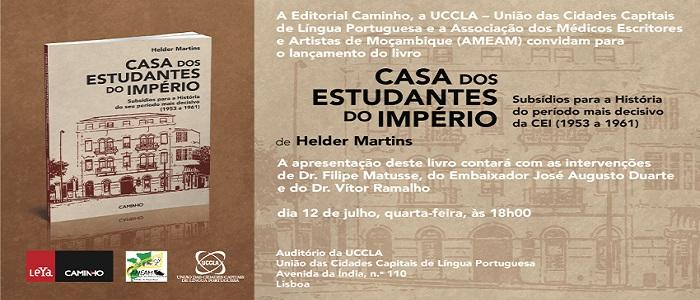 Lançamento de livro sobre a Casa dos Estudantes do Império na UCCLA