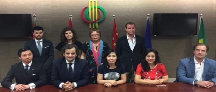 Secretária-Geral do Fórum de Macau teve encontro com o Presidente da União dos Exportadores da CPLP