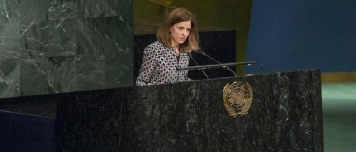 Cristina Pucarinho, mencionou a importância de cooperação entre os países que falam português