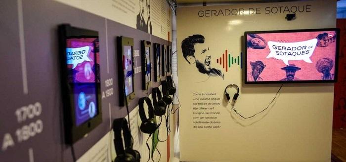Exposição interativa sobre a Língua Portuguesa chega a Vitória