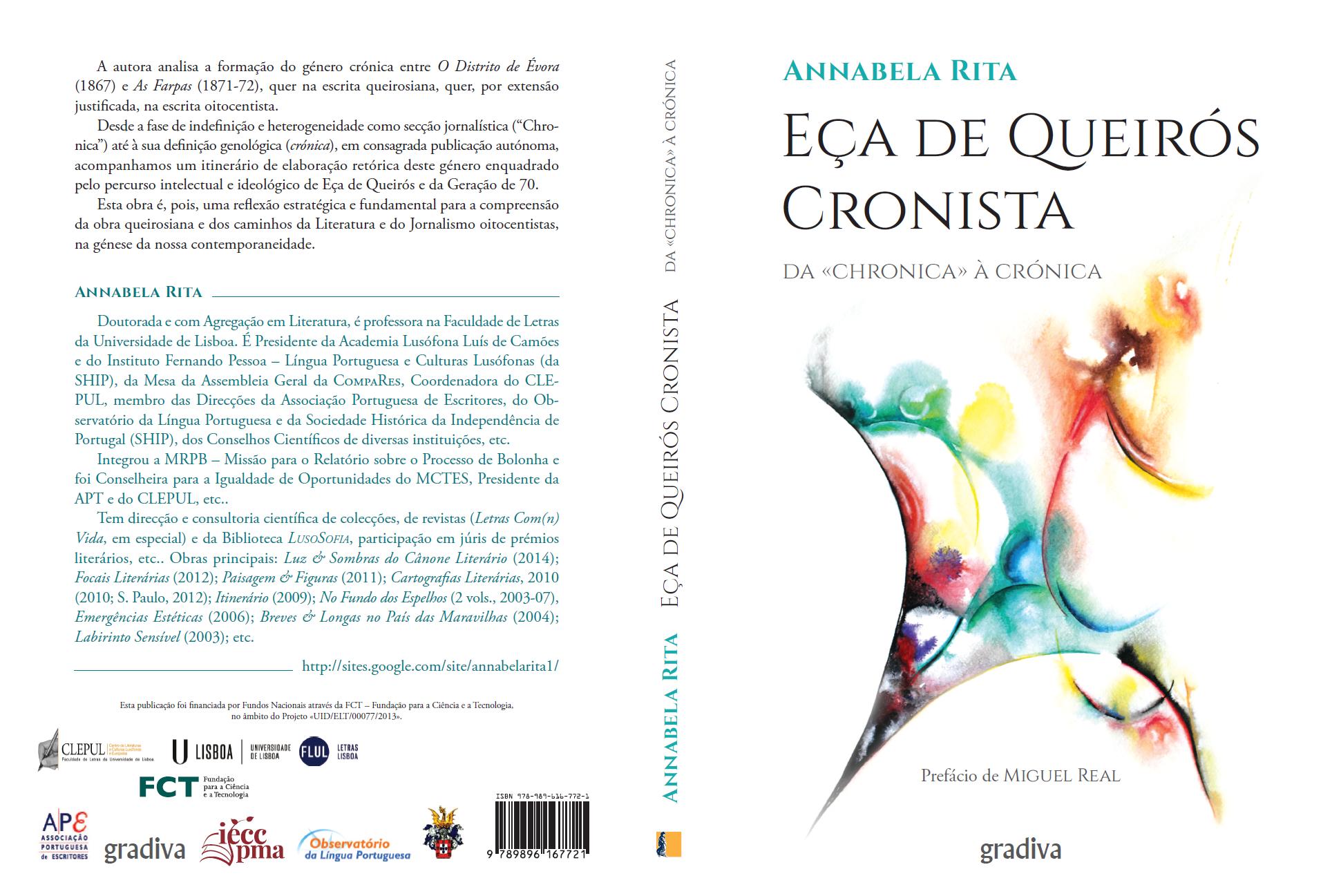 Annabela Rita Eça de Queirós Cronista